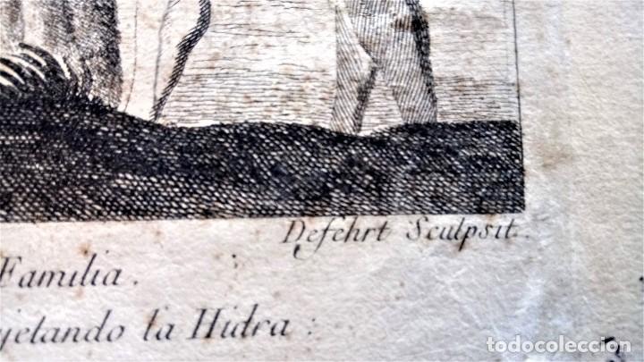 Arte: GRABADO ORIGINAL,SIG.XVIII,AÑO 1764, REY CARLOS III EN BARCELONA,MASCARA REAL,DE FRANCISCO TRAMULLAS - Foto 9 - 126116827