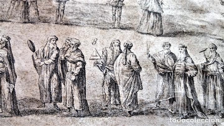Arte: GRABADO ORIGINAL,SIG.XVIII,AÑO 1764, REY CARLOS III EN BARCELONA,MASCARA REAL,DE FRANCISCO TRAMULLAS - Foto 10 - 126116827