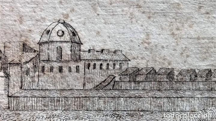 Arte: GRABADO ORIGINAL,SIG.XVIII,AÑO 1764, REY CARLOS III EN BARCELONA,MASCARA REAL,DE FRANCISCO TRAMULLAS - Foto 13 - 126116827