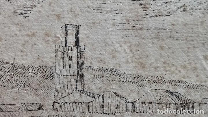 Arte: GRABADO ORIGINAL,SIG.XVIII,AÑO 1764, REY CARLOS III EN BARCELONA,MASCARA REAL,DE FRANCISCO TRAMULLAS - Foto 14 - 126116827
