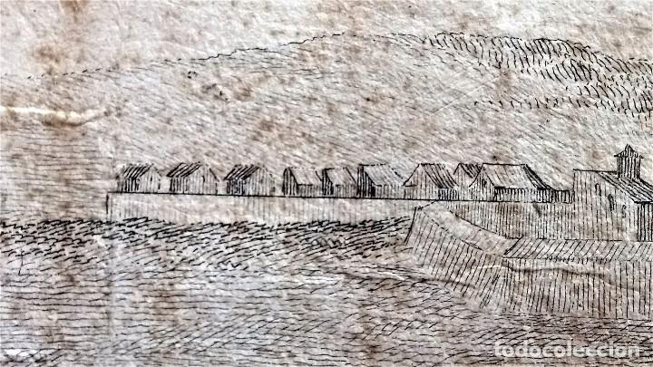 Arte: GRABADO ORIGINAL,SIG.XVIII,AÑO 1764, REY CARLOS III EN BARCELONA,MASCARA REAL,DE FRANCISCO TRAMULLAS - Foto 15 - 126116827