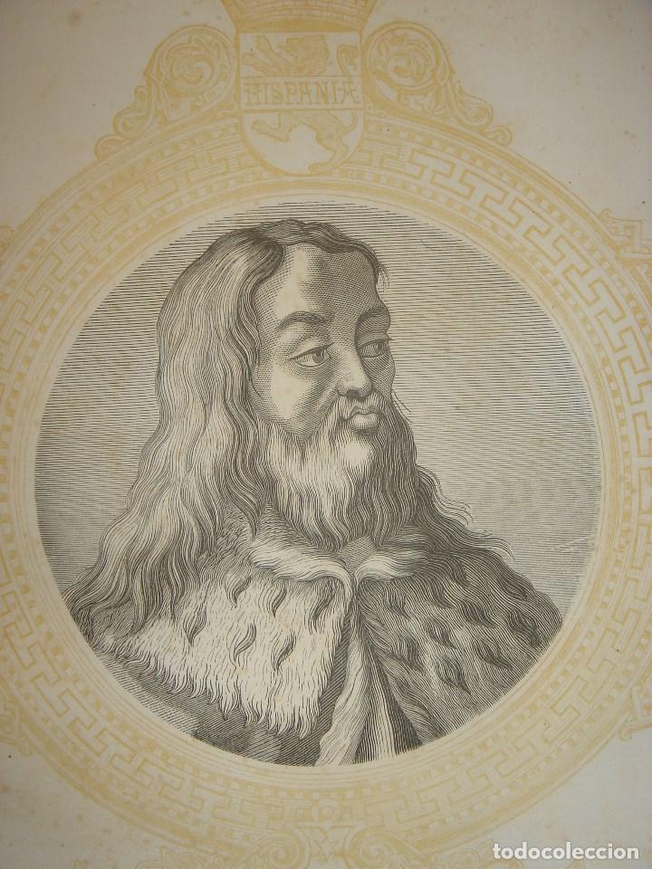 grabado enrique iv de castilla, original, 1864, - Kaufen Moderne ...