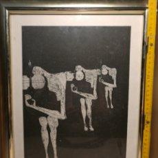 Arte: REBAJADO!. GRABADO ORIGINAL DE JUAN TORRENTE, PRUEBA DE AUTOR.. Lote 126437280