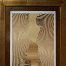 Art - SEMPERE, Eusebio. Transparencia en el tiempo, 1977. Serigrafía. - 126489075