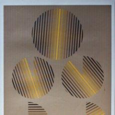 Art - SEMPERE, Eusebio. Transparencia en el tiempo, 1977. Serigrafía. - 126489183