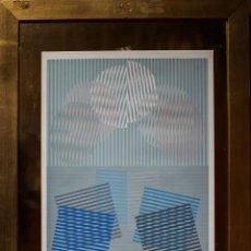 Art - SEMPERE, Eusebio. Transparencia en el tiempo, 1977. Serigrafía. - 126489239