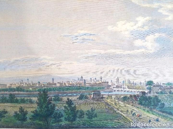 Arte: Grabado antiguo Valencia Laborde año 1808 con certificado autent. Grabados antiguos de Valencia - Foto 2 - 101695055