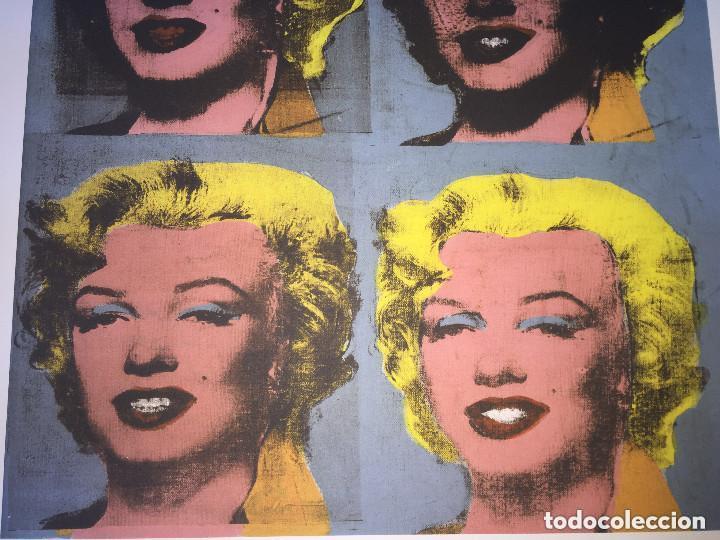 Kunst: Grabado original de Andy Warhol,Marilyn Monroe,numerado a lapiz,con firma y marca de agua,57x38 cms - Foto 3 - 126909395