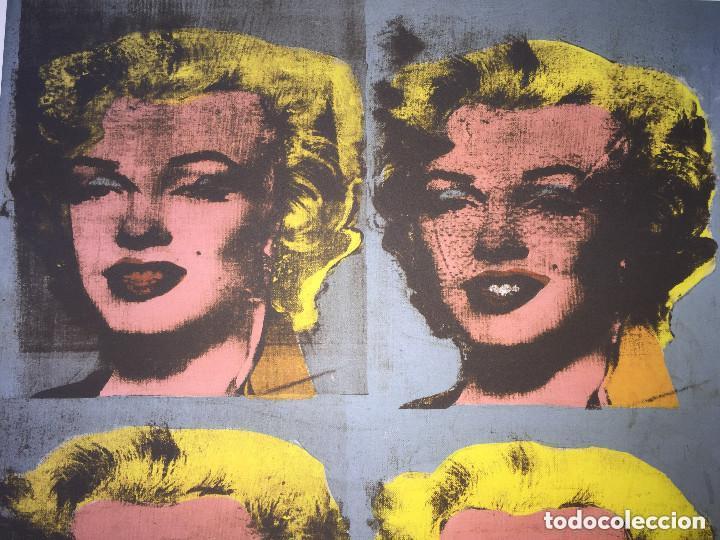 Kunst: Grabado original de Andy Warhol,Marilyn Monroe,numerado a lapiz,con firma y marca de agua,57x38 cms - Foto 4 - 126909395
