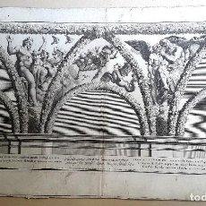 Arte: GRABADO - NICOLAS DORIGNY (1657-1746) - RAFAEL - CAPILLA CHIGI. Lote 126927343