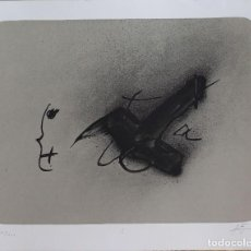 Arte: ANTONI TAPIES.LITOGRAFIA ORIGINAL FIRMADA Y NUMERADA A MANO POR EL ARTISTA.. Lote 126960923
