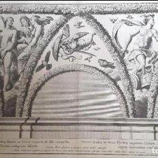 Arte: GRABADO - NICOLAS DORIGNY (1657-1746) - RAFAEL - CAPILLA CHIGI. Lote 126927155