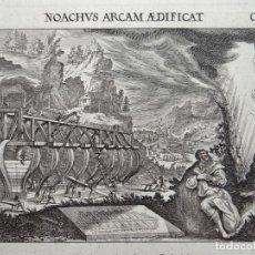 Arte: CONSTRUCCIÓN DEL ARCA DE NOÉ, 1679. MELCHIOR KÜSEL. Lote 127124371