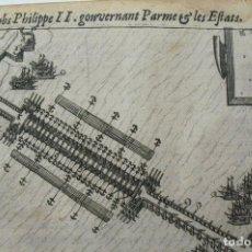 Arte: EPISODIO DE LA GUERRA DE LOS CIEN AÑOS (PAISES BAJOS, EUROPA), 1616. HOGENBERG/COLIN. Lote 127126043