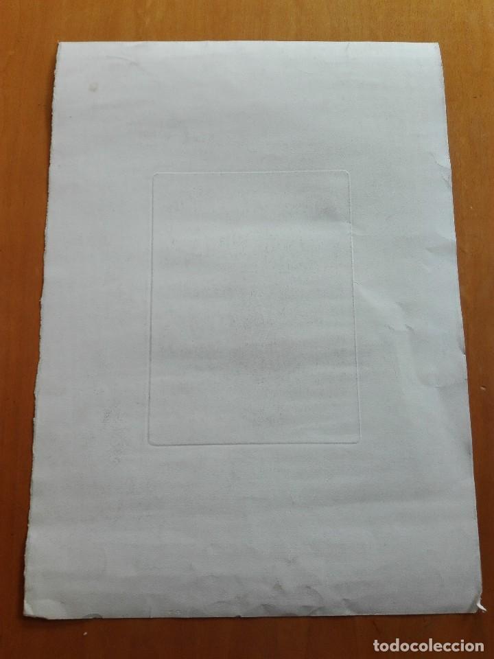 Arte: Retrato de Velázquez, Federico Navarrete dibujó y grabó.Calcografia Nacional. Aguafuerte. Ca 1870 - Foto 7 - 127126355