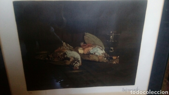 Arte: Litografía firmada por Durancamps PA, 90x70 - Foto 2 - 127267180