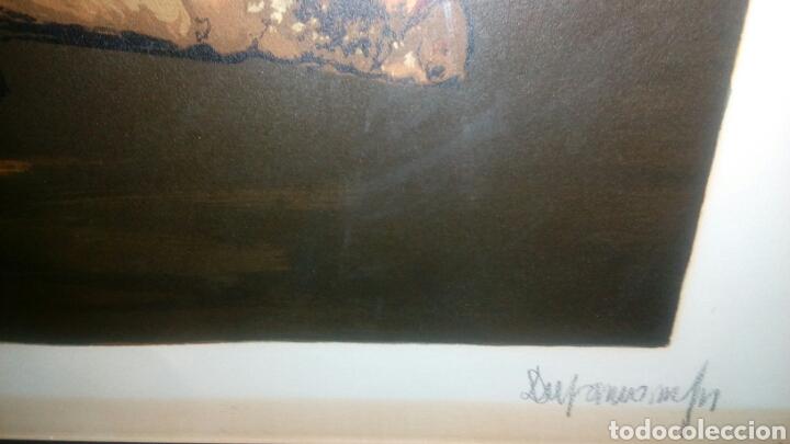 Arte: Litografía firmada por Durancamps PA, 90x70 - Foto 3 - 127267180