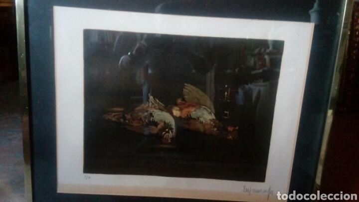 Arte: Litografía firmada por Durancamps PA, 90x70 - Foto 10 - 127267180