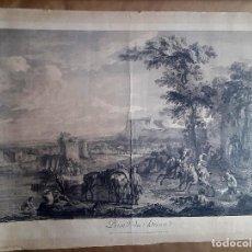 Arte: GRABADO - JACQUES PHILIPPE LE BAS - 1707–1783 - AFTER C. VAN FALENS. Lote 127448111