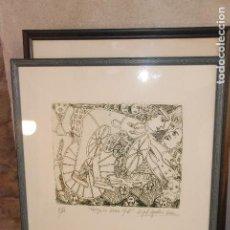 Arte: GRABADOS ORIGINALES RAFAEL AGUILERA. Lote 127510403
