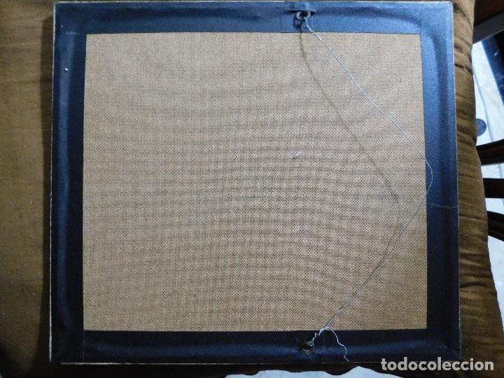 Arte: Grabado español antiguo con marco de madera - Foto 4 - 127640551