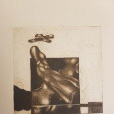 Arte: RUPERTO CÁDIZ RIVAS, SANTIAGO, CHILE(1944), GRABADO ORIGINAL ALEJANDRA, P/E, FIRMADO Y FECHADO. 1975. Lote 127683814