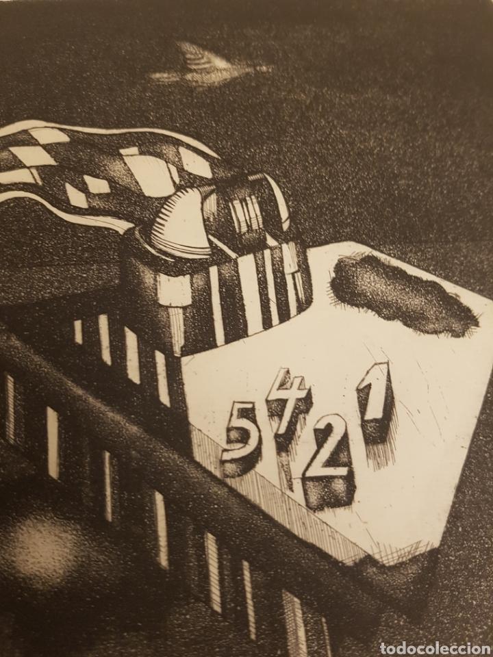 Arte: RUPERTO CÁDIZ RIVAS, SANTIAGO, CHILE(1944), GRABADO ORIGINAL ARTEFACTO-C , 1/5, FIRMADO. 1975 - Foto 3 - 127684190