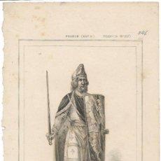 Arte: FRANCIA (SIGLO XII) GODOFRE EL HERMOSO - LEMAITRE DIREXIT - (20X12,5). Lote 128049379