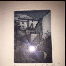 Arte: GRABADO CON CERTIFICADO DE AUTENTICIDAD. Lote 128708199