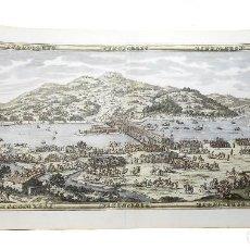 Arte: 1700C - GRAN GRABADO DEL TRATADO DE LOS PIRINEOS ENTRE LUIS XIV Y FELIPE IV EN 1659 - RARISIMO. Lote 128903563