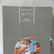 Arte: DANDOLE VUELTAS - OBRA GRAFICA AGUSTI PUIG 1986 CARPETA 10 LÁMINAS - TEXTOS MARUJA TORRES. MAMAGRAF. Lote 129094723