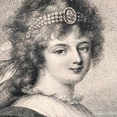 Arte: ELISABETH PHILIPPINE, MARIE, HELENE DE FRANCE, (...) 1764. GRABADO. FRANCIA. XVIII-XIX. Lote 129722071