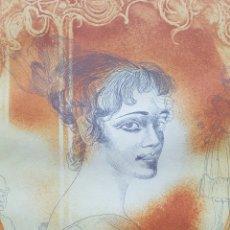 Arte: ALFONSO COSTA BEIRO(NOIA,CORUÑA1943).HOMENAJE A RAQUEL MELLER.FIRMADO.TITULADO.. Lote 130033704
