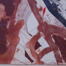 Arte: JOSEP GUINOVART (BARCELONA 1927-2007) GRABADO GOFRADO FIRMADO LÁPIZ DE 64,5 X 49,5. AÑO 1985. 62/75.. Lote 130039395
