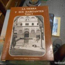 Arte: LIBRO CON SOLO GRABADOS LA TIERRA Y SUS HABITANTES COLECCION ERISA ILUSTRATIVA. Lote 130192803
