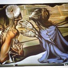 Arte: IMPRESIONANTE GRABADO DE DALI, PROYECTO PARA TRISTÁN LOCO DE 1944,FIRMADO Y NUMERADO , 50 X 65 CM. Lote 130416226