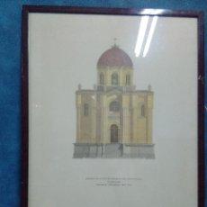 Arte: GRABADO PANTEON DE LA DUQUESA DEL SEVILLANO GUADALAJARA. Lote 130572550