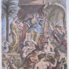 Arte: ESCENA MITOLÓGICA ROMANA, 1679. SANDRART. Lote 130988308