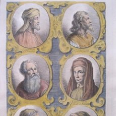 Arte: RETRATOS DE ARTISTAS I, 1679. SANDRART. Lote 130991120