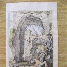 Arte: ESTATUA ROMANA PARLANTE DE MARFORIO, 1679. SANDRART. Lote 131135720