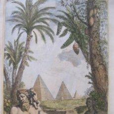 Arte: ESTATUA DEL DIOS ROMANO NILO, 1679. SANDRART. Lote 131135740
