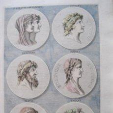 Arte: RETRATOS DE PERSONAJES HISTÓRICOS FAMOSOS I, 1679. SANDRART. Lote 131135856