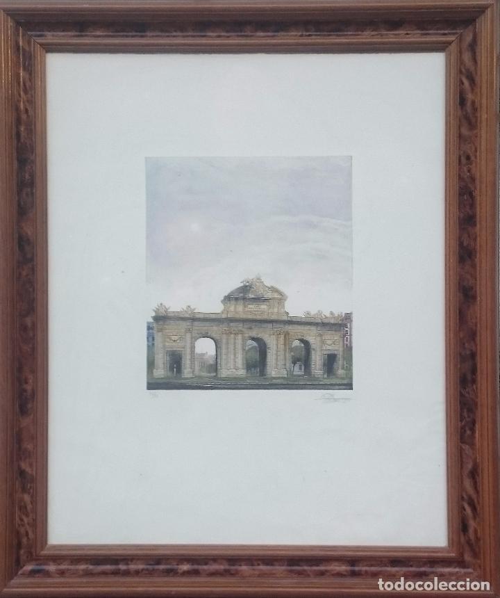 PUERTA DE ALCALA - DOMINGUEZ (Arte - Grabados - Contemporáneos siglo XX)