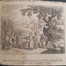 Arte: GRABADO AL COBRE. SIGLO XVIII. ABRAHAM DELIVRE LOT. Lote 131385750