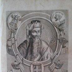 Arte: AMADEO VIII DUQUE DE SABOYA 1451 GRABADO ESCUDOS HERÁLDICA SIGLO XVII ITALIA. Lote 131614098