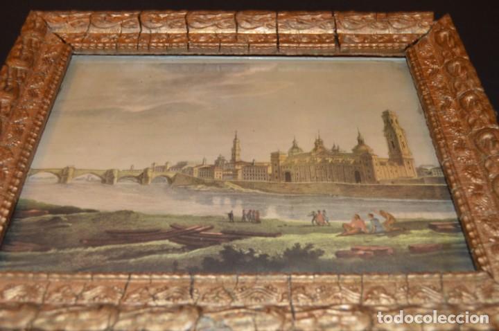 Arte: ZARAGOZA - VIRGEN DEL PILAR - CON MARCO - I. G. VALVERDE - Foto 2 - 131655254