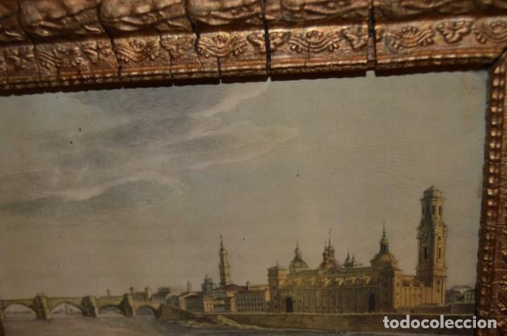 Arte: ZARAGOZA - VIRGEN DEL PILAR - CON MARCO - I. G. VALVERDE - Foto 7 - 131655254