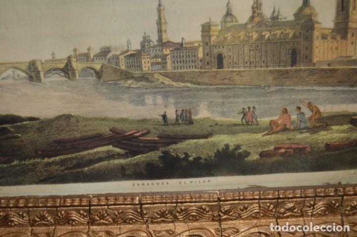 Arte: ZARAGOZA - VIRGEN DEL PILAR - CON MARCO - I. G. VALVERDE - Foto 8 - 131655254