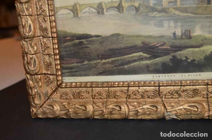 Arte: ZARAGOZA - VIRGEN DEL PILAR - CON MARCO - I. G. VALVERDE - Foto 11 - 131655254
