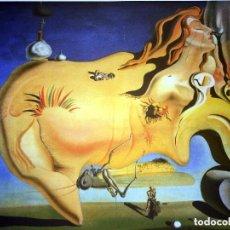 Arte: IMPRESIONANTE GRABADO DE DALI, EL GRAN MASTURBADOR,FIRMADO Y NUMERADO,50 X 65 CM. Lote 132688709
